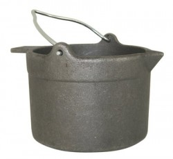 Lyman CAST Iron Lead Pot 10lb