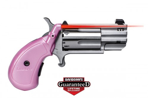 LaserLyte V-Mag Grip Red Laser Sight,.22 Magnum,Pearl Pink, NAA-VCP