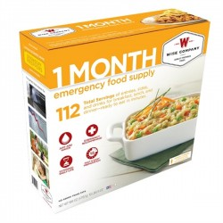 Wise Company One-Month Emergency Food Box - Orange