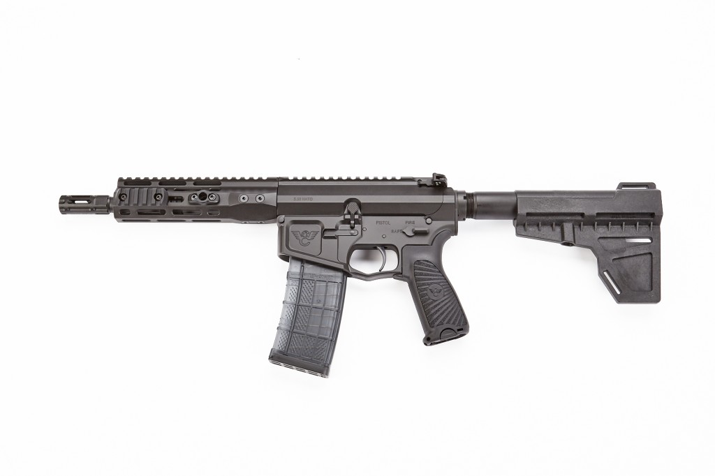 "Wilson Combat ARP Tactical, 5.56 NATO, 8"" Barrel, Black"