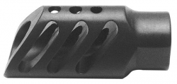 DIAMONDHEAD T-HIDER 5.56MM FLASH HIDER BLACK