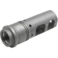 Surefire Socom 338 Muzzle Brake / Suppressor Adapter Black .338 Lapua