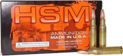 HSM AMMO .308 WIN 130GR. SPEER