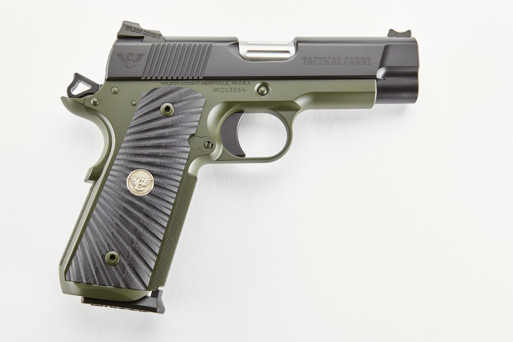 Wilson Combat Tactical Carry, Professional, 9mm, Black/Green