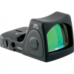Trijicon RM06 Ruggedized Min Reflex (RMR) 1x 22x16mm Obj Unlmtd Eye Relief