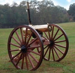 Colt Firearms 1877 Bulldog Gatling Gun Brass .45-70 Government 18.25-inch Carriage Model