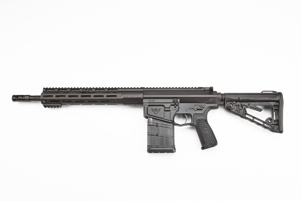 "Wilson Combat Recon Tactical Rifle, .308 Winchester, 14.7"" Barrel, 1-10 Twist, Fluted, Black"