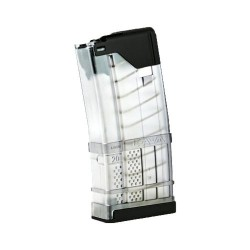 Lancer Systems L5 Advanced Warfighter Magazine Clear .223 / 5.56 NATO 20Rd