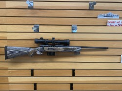 USED MOSSBERG MVP 308 19 W/WEAVER SCOPE