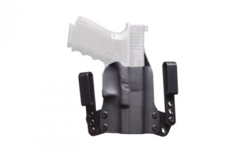 Blackpoint Tactical RH Mini Wing IWB Holster for Smith and Wesson MP 9/40 Compact, Black 101303