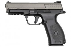 "EAA Girsan MC28SA 9mm Luger Semi Auto Pistol 4.25"" Barrel 15 Rounds Two Tone Black Polymer Frame Matte Silver Finish"