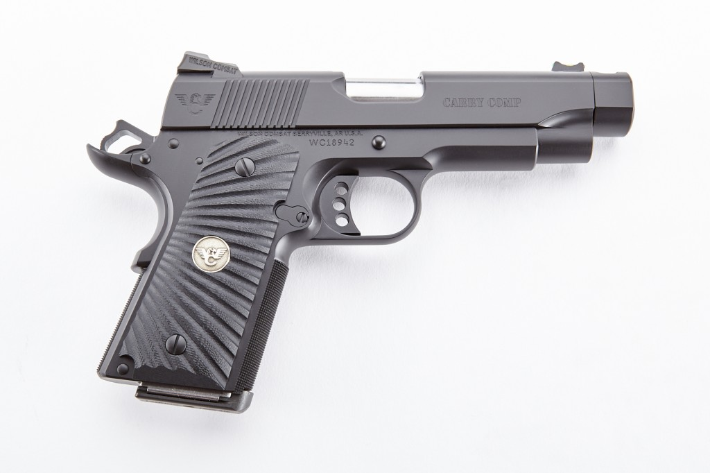 Wilson Combat Carry Comp, Compact, .45 ACP, Black