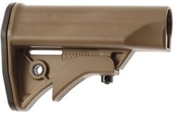 LWRC International AR-15 Compact Carbine Stock Mil-Spec Diameter FDE