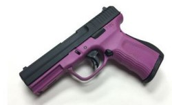 FMK Firearms G9C1G2pkCAMA 9mm 4-inch 10rd Double Action Pink
