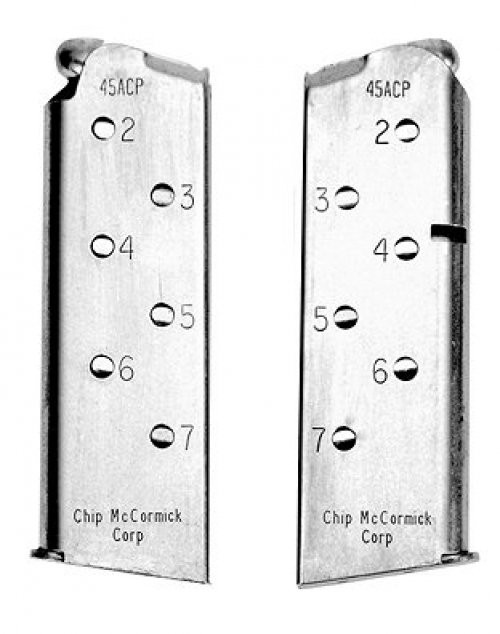 Chip McCormick 7rd .45ACP Stainless OffCR