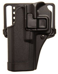 BLACKHAWK! Serpa CQC Holster w/BL and Paddle Right Hand