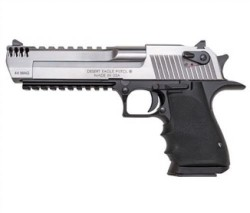 MR DESERT EAGLE 50AE 6 BLK ALUM FRAME SS SLIDE