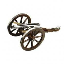 Traditions MINI NAPOLEAN III CANNON Stainless .50 Caliber