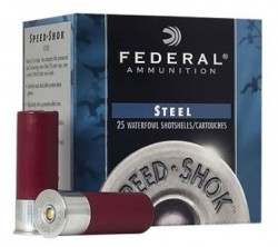 Federal Speed-Shok Steel Shotshells Per Box