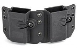 Raven Concealment Single Modular Pistol Mag Carrier - DS94U DMC BK S STD-1.5