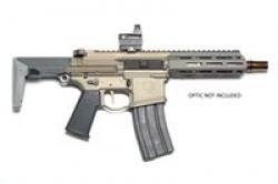 "Q Honey Badger, Semi-automatic, SBR, 300 Blackout, 7"" Threaded Barrel, Flat Dark Earth Finish, Collapsible Stock, 30Rd HB-300BLK-7IN"