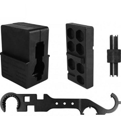 AIM Sports Inc AR Armorers Kit w/ Vise Blocks, Front Sight Tool and Wrench ATARAK