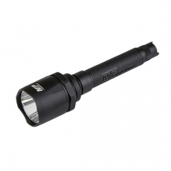 Smith & Wesson Delta Force FS-10 LED Flashlight, 2100 Lumens, 4X CR123, Black 110046