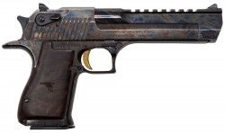 "Magnum Research Desert Eagle Mark XIX Semi Auto Pistol .357 Magnum 6"" Barrel 9 Rounds Fixed Combat Sights Weaver Accessory Rail Case Hardened Finish"