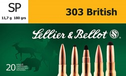 Sellier and Bellot SB303C 303BRIT 180 SP 20rds