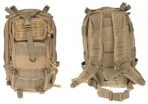 Drago Gear Tracker Backpack, Tan, DRA14301TN