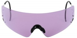 Beretta Shooting Glasses with Purple Lenses, Metal Frame with Hard Case, Purple OCA800020316