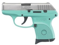 Ruger LCP 380ACP TURQUOISE/SS 6+1