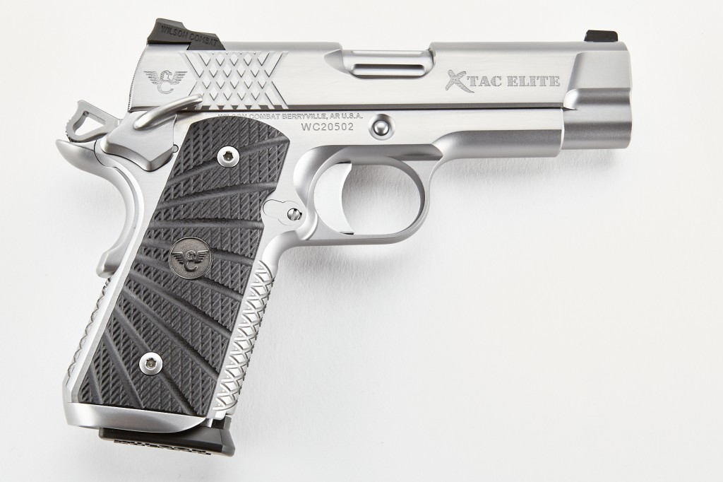 Wilson Combat X-TAC Elite, Compact, .45 ACP, Stainless Steel