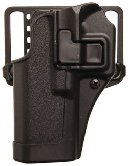 Serpa Cqc Concealment Holster For Walther P99 Matte Finish Black Left Hand