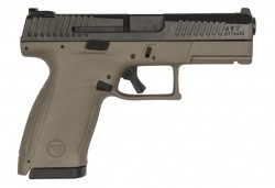 CZ P-10 Compact Black / Flat Dark Earth 9mm 4.02-inch 10Rds
