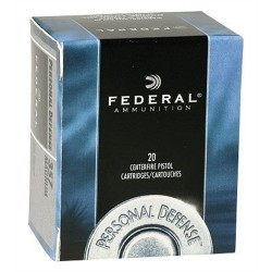 Federal C32LB Standard 32 Smith & Wesson Long Lead Round Nose 98 GR 20Box/25Case
