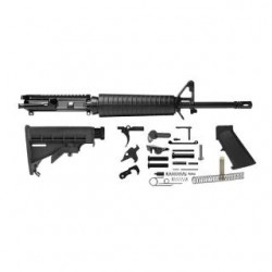Del-Ton Mid-Length Rifle Kit Black 5.56NATO/.223REM 16-inch Upper with Lower parts kit
