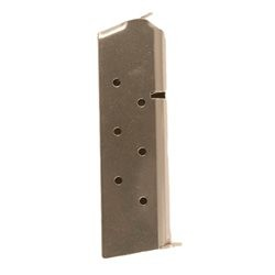 Magazine for Colt Government, Gold Cup, Commander & Double Eagle  - 45 ACP, 8 Rounds, Dull Stainless Steel