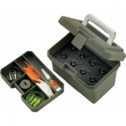 ARCHERY BROADHEAD BOX OD GRN 6.75X5X5IN