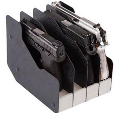 BenchMaster WeaponRAC Four Gun Pistol Rest BMWRM14