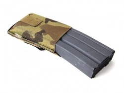Blue Force Gear High Rise M4/AR-15 Belt Mounted Single Magazine Pouch Ten Speed Military Grade Elastic Coyote Brown BT-TSP-M4-HM-CB