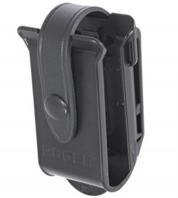 Ruger BX Double Magazine Case  Black  With Clip