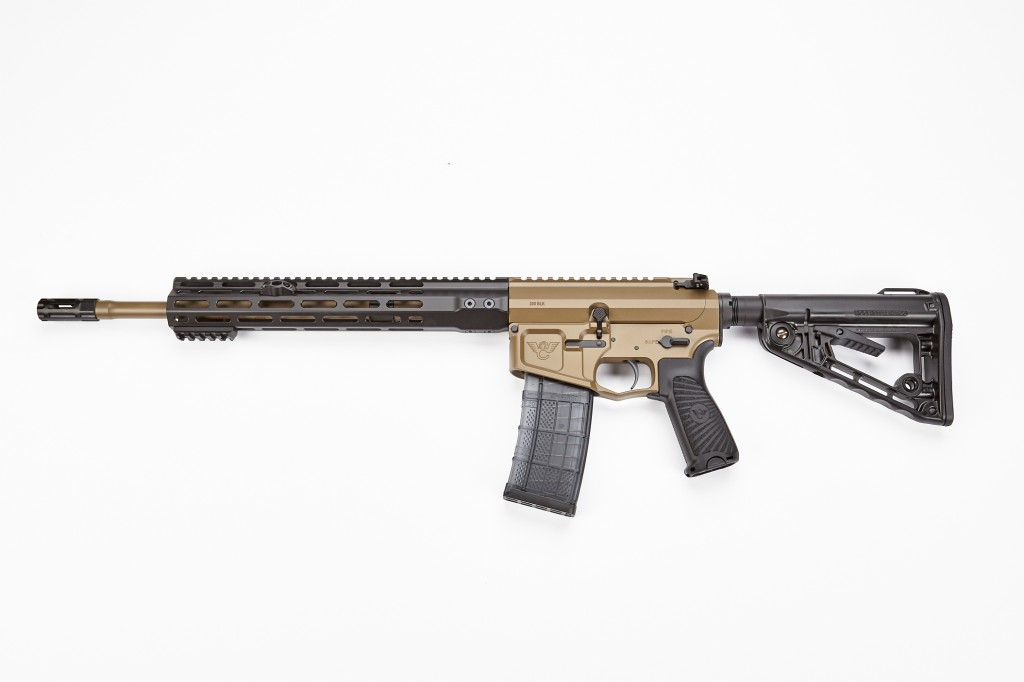 "Wilson Combat Recon Tactical Rifle, 300 Blackout, 16"" Barrel, 1-7 Twist, Coyote Tan"