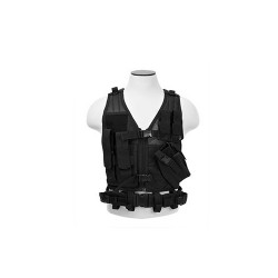 NCStar Tactical Vest Childrens/Black