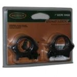 Weaver Quad Lock Rings 1 inch Hi Matte Black