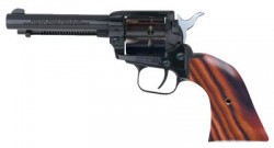 Heritage Firearms 22LR/22WMR 4.75-inch 9rd Includes 22LR/22WMR Cylinders Cocobolo Grips.