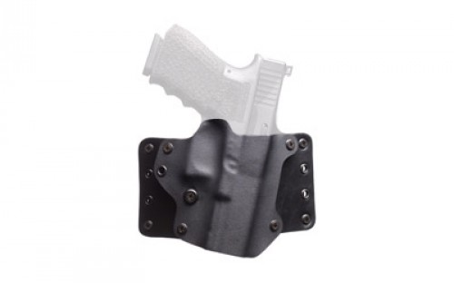 Blackpoint Tactical RH Leather Wing Holster for Model 1911 Standard 5in, Black 100085
