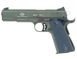American Tactical Imports M1911 Green .22LR 5-inch 10rd Threaded Barrel