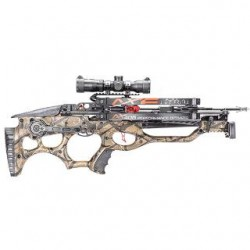 AXE CROSSBOW W/ SCOPE & 3 BOLTS