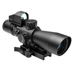 NcStar Gen-2 3-9x42 Ultimate Sighting System, P4 Sniper w/ Micro Red Dot 196605